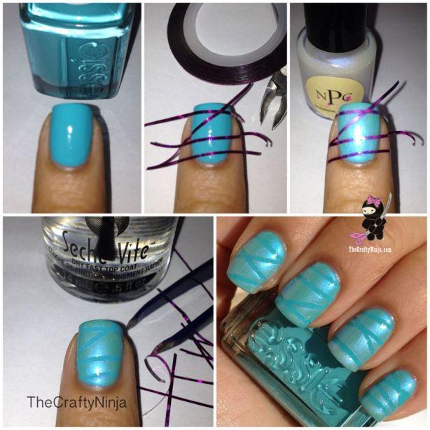 diy nail striping