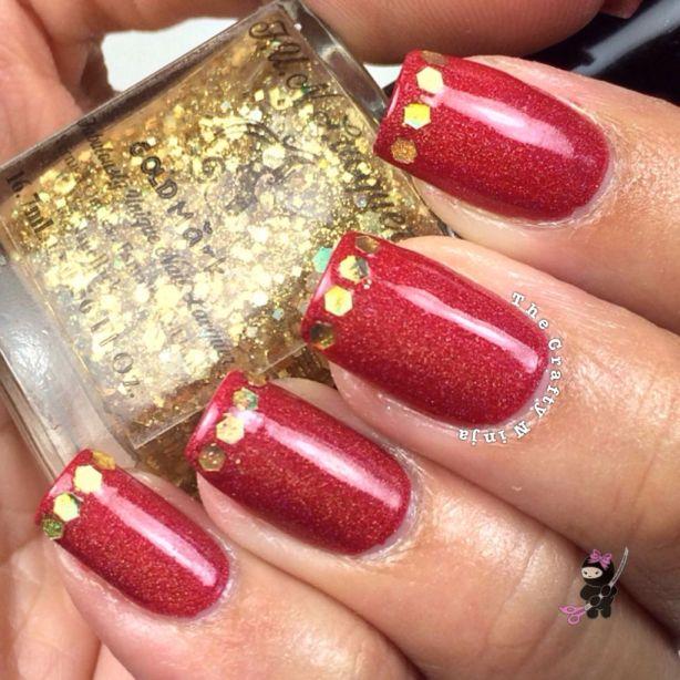 Decentber Holiday Nails