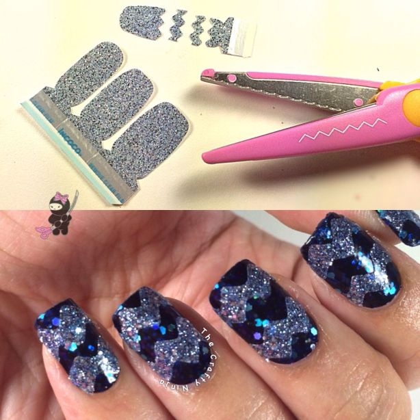 nail appiques scissors