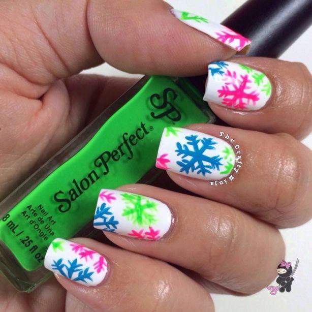 Snowflake Nail Tutorial
