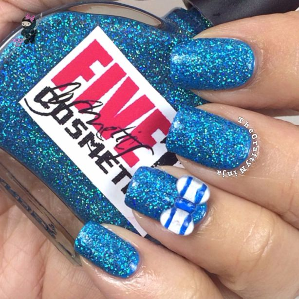 Crafty Blue Glitter
