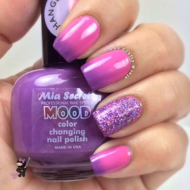 Mood Polish Purple