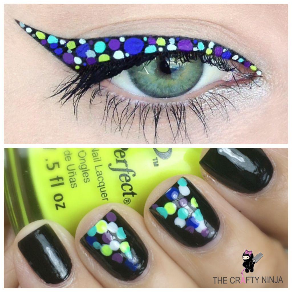 Dot Nails Eyeliner