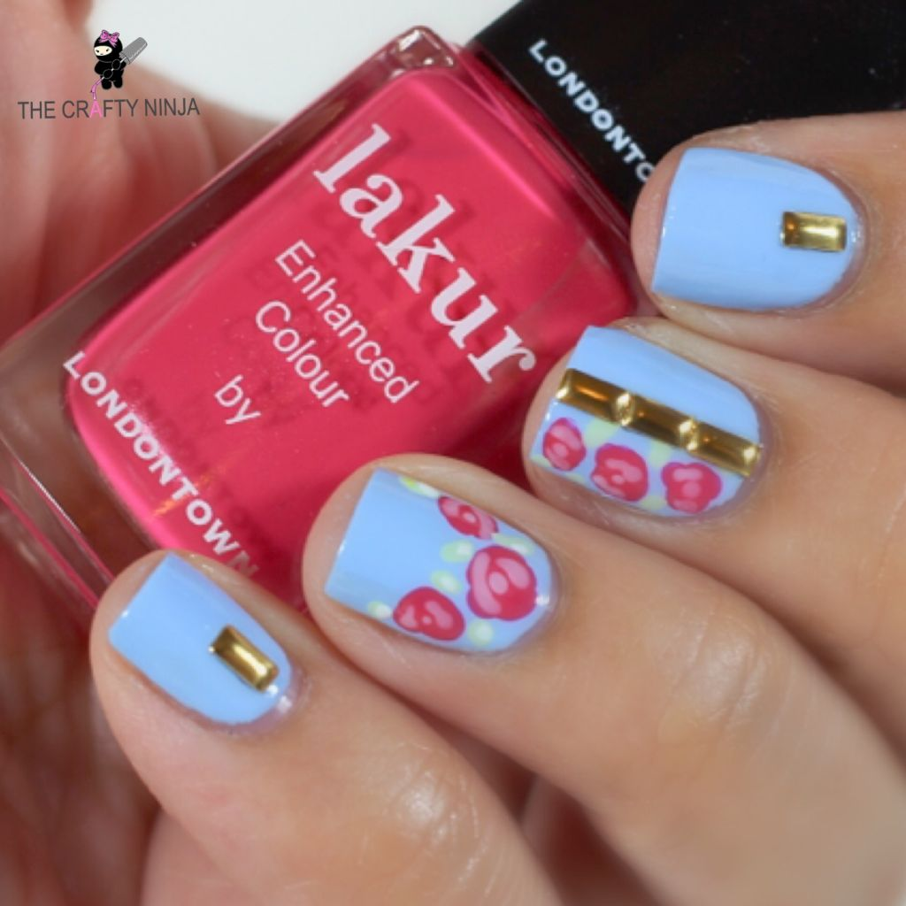 Spring Flower Stud Nails