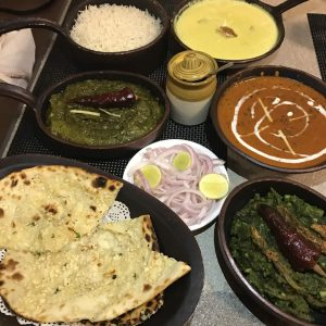 Indian royal meal which is spicy and delicious in Mumbai