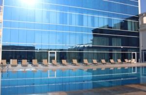 Poolside, Radisson Blu Ajman.