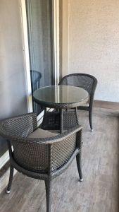Personal Balcony, Radisson Blu Resort and Spa Karjat