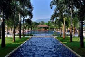 Pool View, Radisson Blu Resort and Spa Karjat.