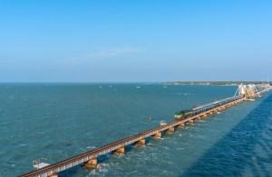 Pamban Sea Bridge, Rameswaram.