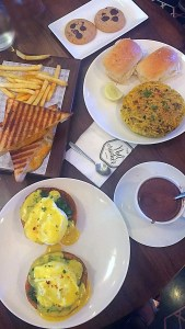 breakfast at The Nutcracker Kala Ghoda