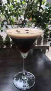 Chocolate Martini at Kettle & Keg, Khar.