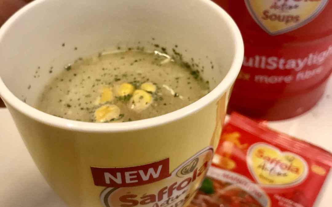 Kill those mid-evening hunger pangs with the healthy Saffola Active Soups.