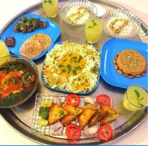 Traditional Dawoodi Bohra Thaal