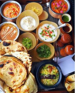 A delicious Indian meal in the comfort of your room at The Westin Pune.