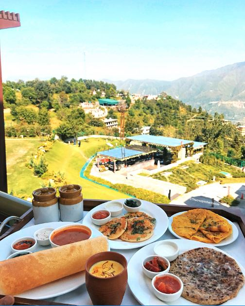 Breakfast by the mountains at JW Cafe, JW Marriott Mussoorie.