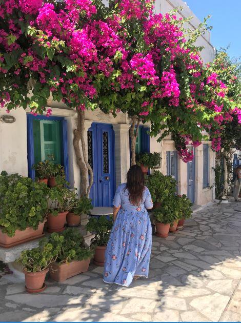 Pyrgos, Tinos, Greece.