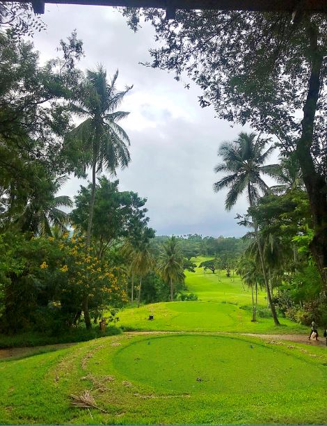 View from the Chalet, Chalets at Victoria Golf & Country Resort. Kandy, Sri Lanka.