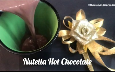 5 ingredient Nutella Hot Chocolate Recipe! How to make hot chocolate.