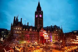 Manchester, UK, Christmas Market.