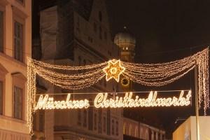 Munich Christmas Market, Germany.