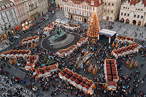 Prague Christmas Market.