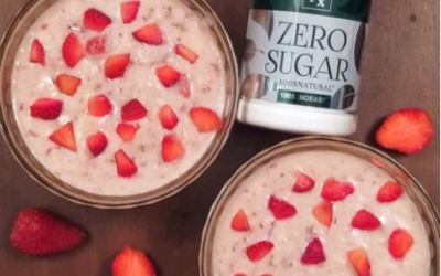 Instant Strawberry Rabri Recipe using Tata Nx Zero Sugar