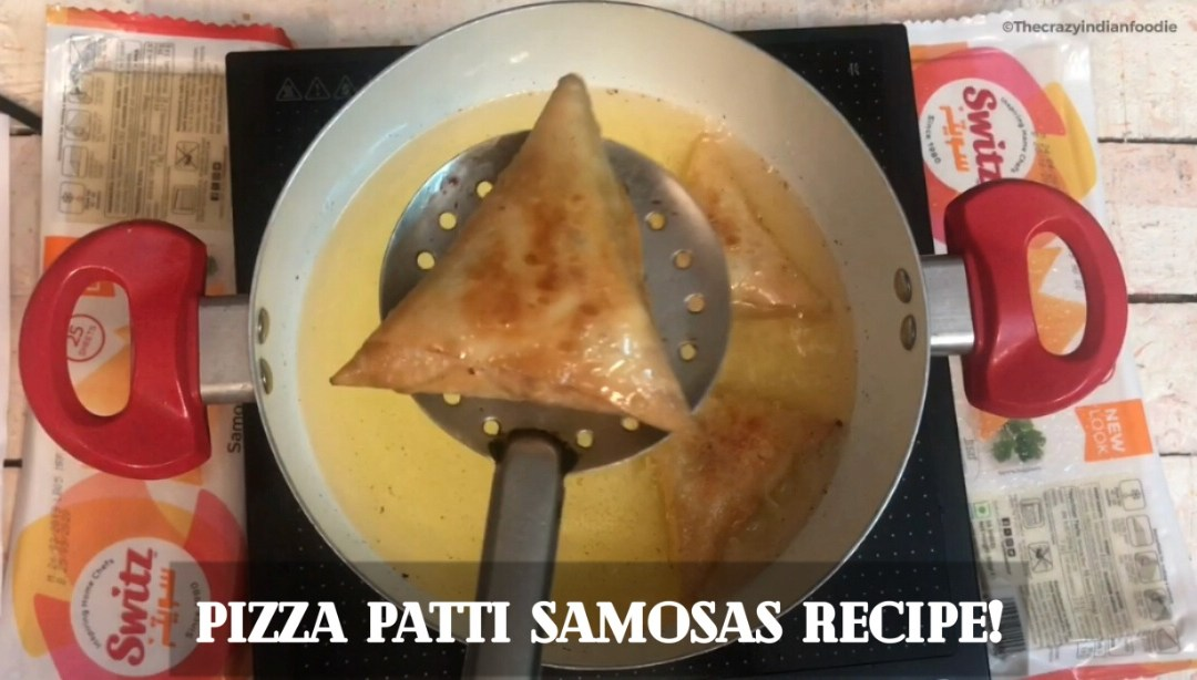 Pizza Patti Samosas with Switz!