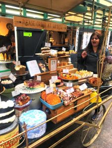 Never too much pastry! At St Nicholas market, Bristol.