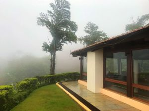 Misty mornings at  Ekaant The Retreat, Lavasa.