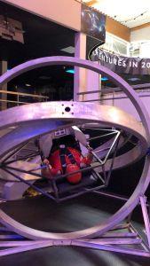 Experiencing Zero Gravity Astronaut Training at the Euro Space Centre, Belgium.