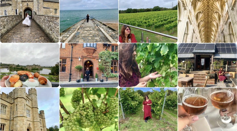 Food, Wine and Travel guide through South East England.