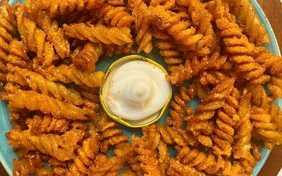 Crispy Pasta Chips Recipe!