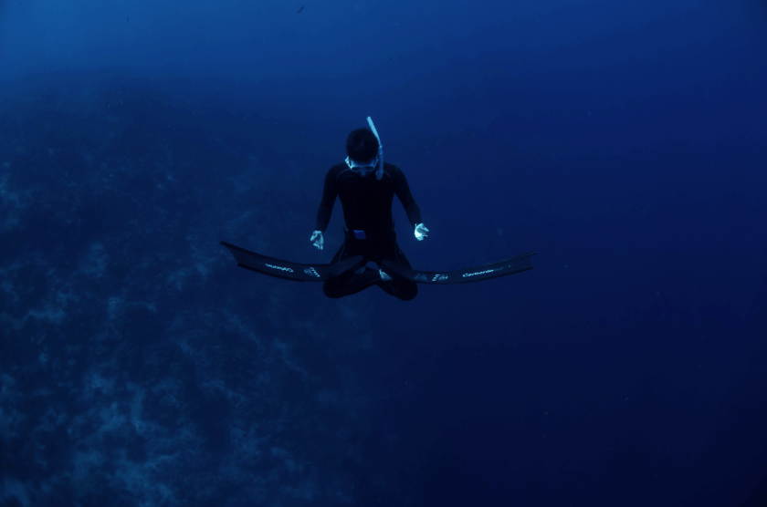 Freediving zen