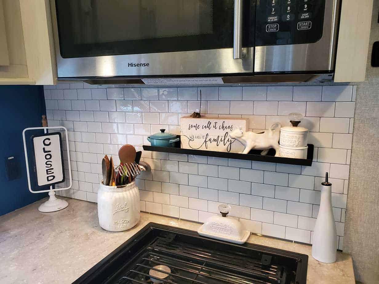 17 peel and stick kitchen rv backsplash
