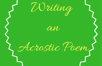 wrting acrostic poem