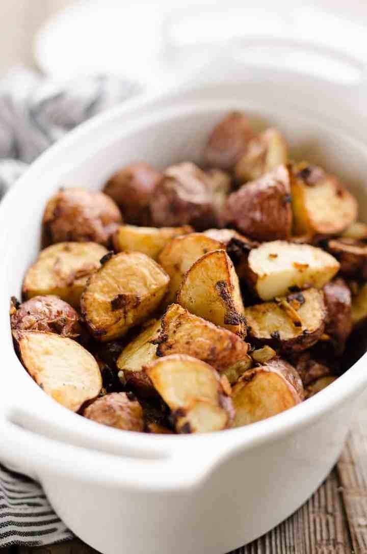 Ninja Foodi Air Crisp Potatoes