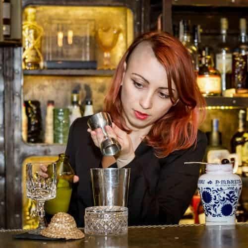 Aida Ashor - Bartender