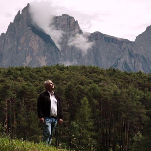 Florian Rabanser - Zu Plun - passeggiata ai piedi delle Dolomiti