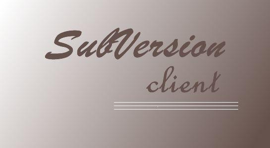 subversion client