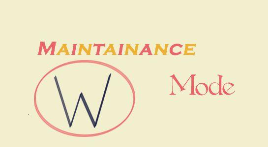 WordPress site into maintenance mode Without Plugin