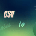 To import user from csv in wordpress
