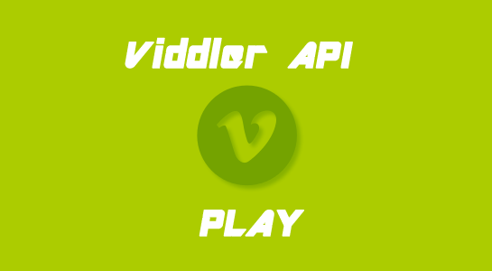 Record and Play video using Viddler API