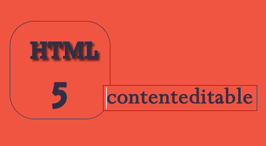 contenteditable html5