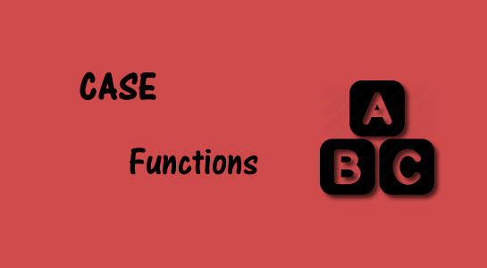 Case functions in PHP