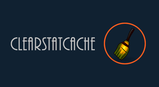 What is the use of clearstatcache() in PHP