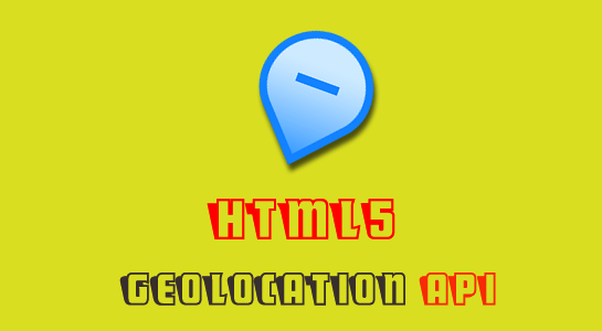 HTML5 Geolocation API