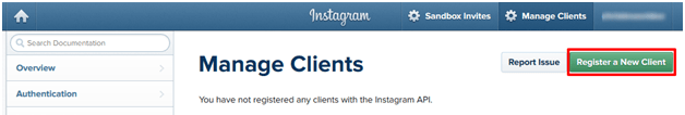 manage instagram clients