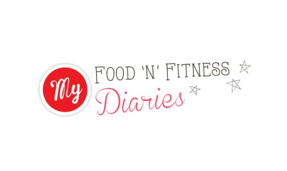 My Food 'n' Fitness Diaries Blog Design