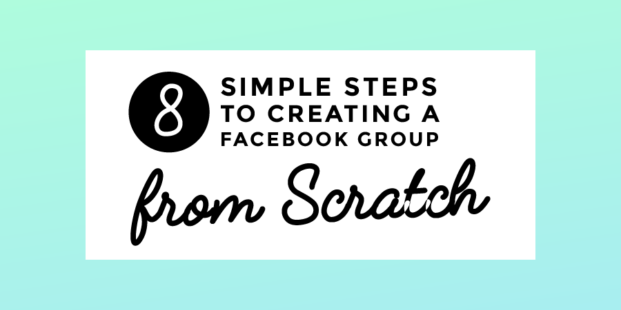 Facebook Groups From Scratch