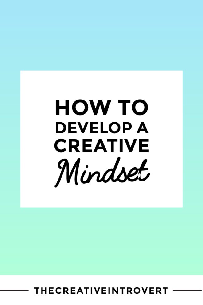 When you develop a creative mindset, real tangible things start to happen. This post proves how simple it is to start making shift happen TODAY.